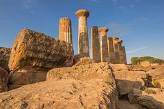 Il tempio di Ercole (Alex.Sebastian.H) Tags: valledeitempli ercole agrigento sicilia italy island alexsebastianh nikond610