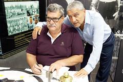 Lanamento do livro do Guilherme Guarche (Santos Futebol Clube) Tags: santos livro fc lanamento memria santista