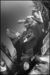 Oldtimer meeting @ Sint-Lievens-Houtem (B) - 2016/08/12 (Geert Haelterman) Tags: geert haelterman streetphotography straatfotografie photographiederue photoderue fotografadecalle fotografiadistrada strassenfotografie candid streetshot monochrome black white blackandwhite zwart wit belgium sintlievenshoutem fujifilm x10