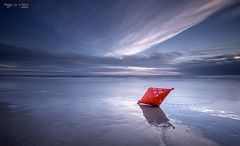 Badeverbot (PhotoArt Hartmann) Tags: sea beach water strand sand meer wasser jan north himmel wolken peter nd nordsee hartmann photoart hdr sankt kste spo boje ording badeverbot
