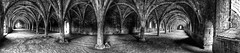 Which way now? (Sherlock 2010) Tags: fountains abbey panoramic arches