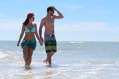 Stu & Paul (KathleenYvonne) Tags: canon canadians winter 2016 beach couple inlove goals waves ocean clearwater pinellascounty amateur blue clear tropical mcm wcw beauty nature love