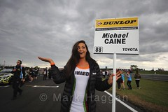 Michael Caine's pit board during the Grid Walks at the BTCC 2016 Weekend at Snetterton (MarkHaggan) Tags: snetterton norfolk circuit track motorsport motorracing btcc btcc2016 2016 july gridwalk grid touringcars britishtouringcarchampionship gridgirl gridgirls florenceharperbenson michaelcaine caine toyotaavensis avensis toyota tlcracing teamhard