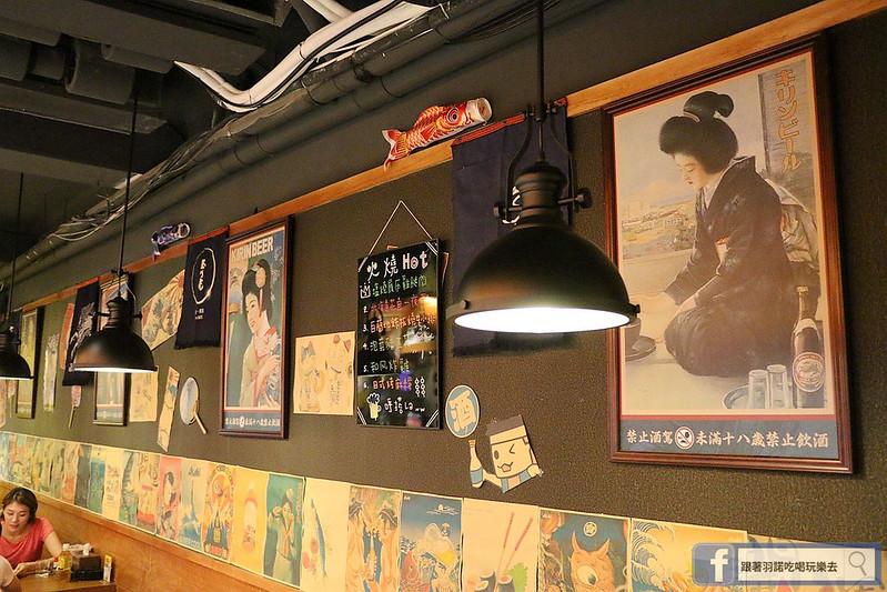 火燒鳥日式居酒屋中山站台北七條通好吃燒烤居酒屋024