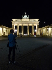 The Perfect Angle (Sarah A Stewart) Tags: metaphotography brandenburgertor berlin germany deutschland night photographer photography shadow architecture