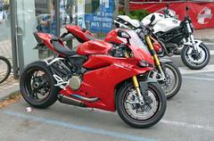 Ducati Panigale (kinsarvik) Tags: bazas salon automoto july 2016 ducati panigale