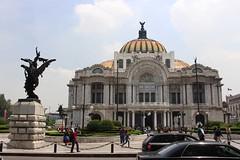 Palacio de Bellas Artes. (Shandchem) Tags: mexico city centre palacio de bellas artes