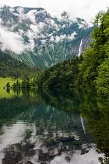 DSC_3660 (svetlana.koshchy) Tags: obersee lake germany berchtesgadener land berchtesgaden landscape bavaria bayern alps alpen deutschland clouds reflection mountain mountains outdoor