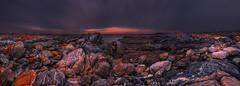 Colour Fun 5 (MartinHroch) Tags: panorama southaustralia nature landscape martinhroch outdoor shore seascape orangecliffs granitecliffs patterns sunset boulders sand ocean sea fineart print photograph photo