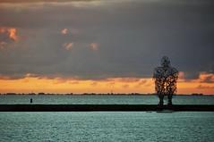DSC_6414 (Herman Verheij) Tags: sunset zonsondergang markermeer lelystad