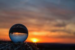 sunset upside down (Borderli) Tags: sunset sonnenuntergang sony rx100miii crystalball glaskugel