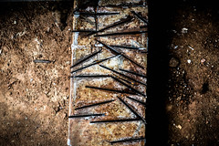 rough&tough (Naveen Gopalakrishnan) Tags: steel work shop brown cuts tool hard naveen d3200 nikon blast random delock crider vetty rough tough rusty