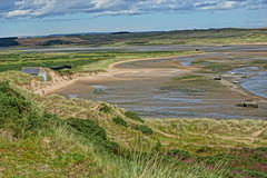 Ythan estuary in sunshine. (artanglerPD) Tags: big view ythan estuary low tide sand dunes boats golf course forvie nature reserve