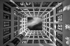 Hello Neighbour (tad888) Tags: mpdquebec noirblanc munich munchen architecture noir blanc black white bw blackandwhite blackwhite nb monochrome monochromatic