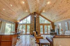 The Great Room (jayklosinski) Tags: vacation rental northwoods snowmobiling skiing atv wisconsin michigan