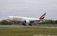 A6-EFK (5) (Christoffer Andersen) Tags: emirates emiratesskycargo boeing b777 b777200 b777f osl osloairportgardermoen oslo cargoplanes cargoplane airplane