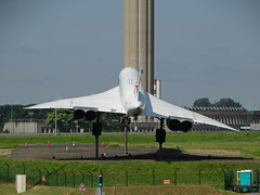 F-BVFF BAC / Aerospatiale Concorde of Air France (SteveDHall) Tags: fbvff bac aerospatiale concorde france bacaerospatialeconcorde airfrance ondisplay displayed aircraft airport aviation airfield aerodrome airplane aeroplane airliner airliners paris pariscdg cdg charlesdegaulle
