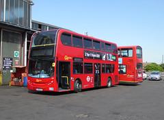 GAL E55 - LX56EUC - BX BEXLEYHEATH BUS GARAGE - WED 24TH AUG 2016 (Bexleybus) Tags: bexleyheath bus garage bx kent goahead go ahead london adl dennis enviro 400 lx56euc e55