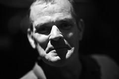 And now he shaves (N A Y E E M) Tags: john mulkearns irish airforce pilot friend portrait lastnight midnight baikalbar hotel radissonblu chittagong bangladesh availablelight indoors
