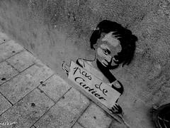 Street Art (Pierrot 49) Tags: streets art blackandwhite blackandwhiteonly smartphone noiretblanc monochrome
