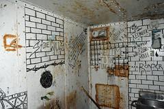 West Virginia Penitentiary (dakotatylerd) Tags: creepy spooky haunted jail prision cell writing west virginia penitentiary nikon d7200 paranormal