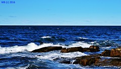 DSC_0374n wb (bwagnerfoto) Tags: halibut point usa ocean landscape landschaft tájkép massachusetts outdoor nature sky blue waves