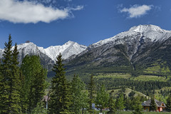 Banff National Park 55 (Largeguy1) Tags: approved banff national park blue sky mountains clouds canon 5d mark iii