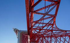 Tokyo tower(1) (sapphire_rouge) Tags: tokyotower japanese   japan tokyo