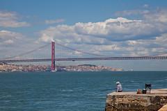 Lisbon (JOAO DE BARROS) Tags: barros joo lisboa lisbon portugal bridge tejo tagus river
