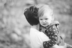 Amelia being grumpy (T_J_G) Tags: grumpy child monochrome black white d750 85mm sad miserable toddler