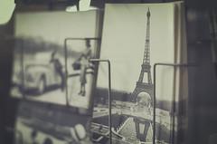 Querida Mara... (Graella) Tags: pars france francia postales postcard vintage torreeiffel happybirthday felicitacin cumpleaos aniversario