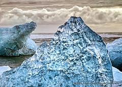 Atlantic Ice (Gary Grossman) Tags: iceberg jokulsarlon atlantic garygrossmanphotography shotsofawe ice ocean iceland seascape bergs blueice southiceland