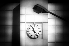 Time (ChrisRSouthland) Tags: time timepassing clock poem grain grainy bw monochrome blackandwhite eos10d canon canon70300mmf4056 texture