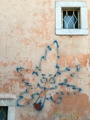Wall in Taormina (chrisjwarrington) Tags: wall graffiti taormina sicily