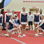 LEHS JV Cheer at Forest Acres 10-22-16