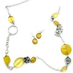 Sunset Sightings Yellow Necklace P2911-4