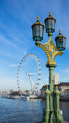 The Eye's to the right! (Wilco1954) Tags: england london streetlamp londoneye places westminsterbridge