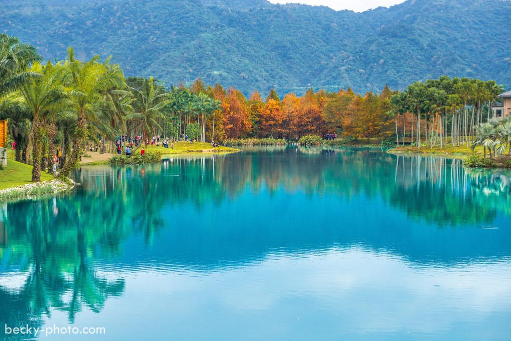 2015.Jan lake @Hualien雲山水