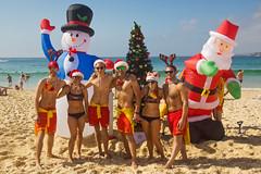 Bondi Beach - Merry Christmas (Kokkai Ng) Tag
