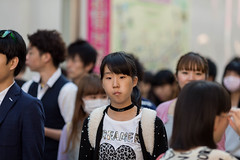 Love Dreamer (Polar Bear 1) Tags: street city people girl japan canon asian tokyo asia candid citylife streetphotography telephoto harajuku metropolis cutegirl