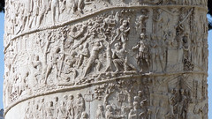 Trajan's Column, relief detail close