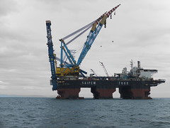 S7000 J-Lay tower (thulobaba) Tags: sea black construction energy burgas 7000 bourgas saipem pipelay