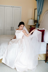 Daria (Anton Kuzmenkov) Tags: wedding portrait smile bride happiness gown gettingready antonioriva