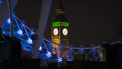 18:10 (Hernan Piera) Tags: uk inglaterra england london tower clock night photography noche photo europa europe torre foto photographer image time bigben pic hora londres nocturna reloj fotografia imagen minutes fotografo reinounido minutos hernanpiera