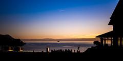 Bateau du soir (PAMaire) Tags: sunset lake switzerland suisse geneva mercury freddie leman lman montreux