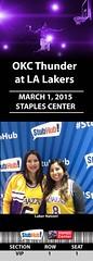 Your StubHub Commemorative Ticket (StubHubPhotos) Tags: lakers staplescenter stubhub onlygoodsurprises
