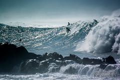 _DSC3506 joe marquez surfing at waimea nikon v3 70-300cx (The Smoking Camera) Tags: ocean beach hawaii nikon surf wave shore northshore v3 surfboard surfers 70300mm 800mm bigwave 70300cx