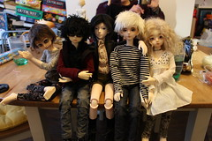 Suffolk Meet Jan 2015 (AliceAlicaArisu) Tags: up doll dolls meetup group bjd meet abjd