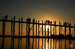 U Bein Bridge (jennifer.stahn) Tags: travel bridge nikon asia asien jennifer burma bein u myanmar brücke birma mandalay reise stahn d7000
