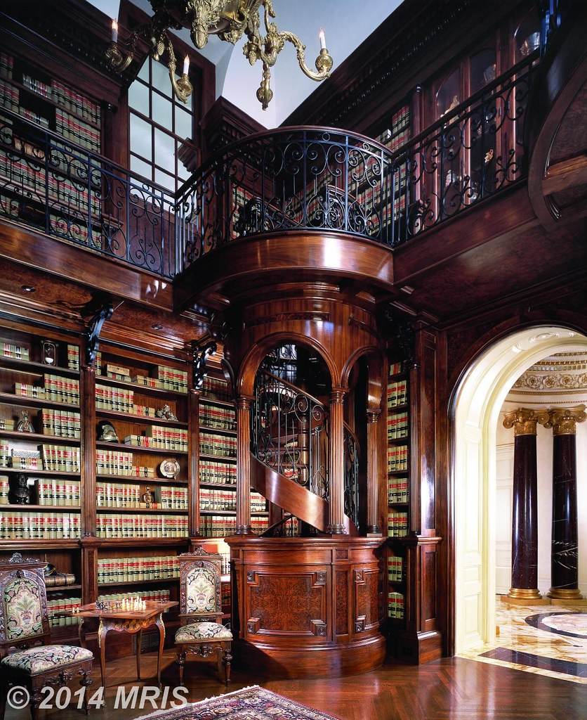 45 Design Ideas Of Amazing Home Libraries: The World's Best Photos By Techpro12